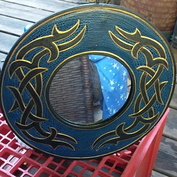 NWOT Beautiful Handmade Tribal Mirror